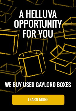We Buy Gaylord Boxes